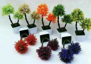 Artificial Plastic Plants and Flowers of Small Bonsai Plants pictures & photos