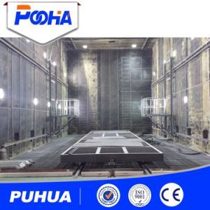 Sand Blasting Chamber Equipment with Automatic Mechanical Recovery System pictures & photos
