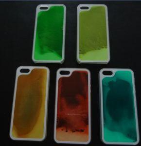 Hot Glowing Liquid Quicksand PC Mobile Phone Case
