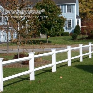 2 Rail Garden Fence/Ranch Fence/Farm Fence pictures & photos