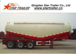 45 Cbm 3 Axles Cement Tanker Semi-Trailer pictures & photos