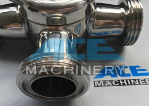 Hotsale Ss304/316L Three-Way Plug Valve (ACE-XSF-H6) pictures & photos