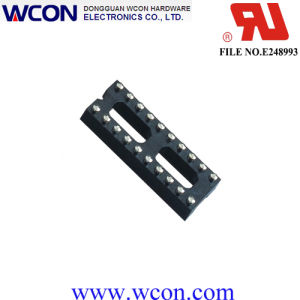 2.54mm H=3.0 7.62 20p Machined IC Socket pictures & photos