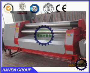 W11H-30X2500 High quanlity 3 rollers Automatic plate bending rolling machine pictures & photos