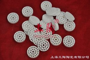 99% Alumina Ceramic Solid Plate with Hole pictures & photos