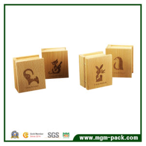 Wholesale Custom Printed Book Shaped Wooden Music Box pictures & photos