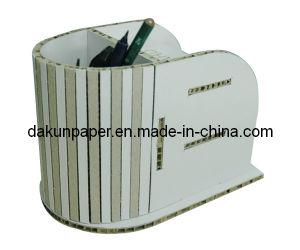 White Cardboard Pen Holder (DKPD121012)