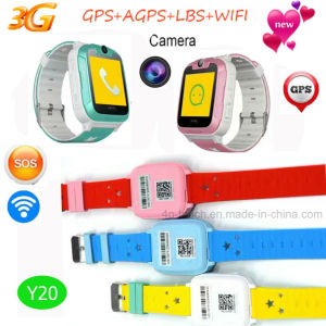 2017 New 3G Children Sos GPS Warch with Camera pictures & photos