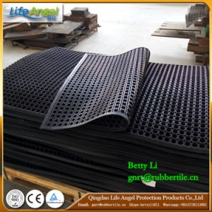 Drainage Rubber Kitchen Mat Cheap Interlocking Floor Mats pictures & photos