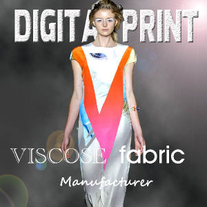 60X60 Viscose Fabric Voile Digital Printing (m103) pictures & photos