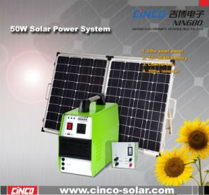 off-Grid Solar Power System 50W Small Power System