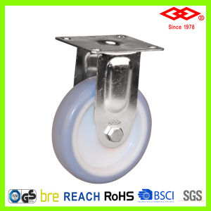 100mm Stainless Steel Blue TPR Wheel Caster (D114-34B050X20A) pictures & photos