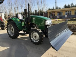 55HP 4WD Farm Tractor 554 with Front Snow Blade pictures & photos