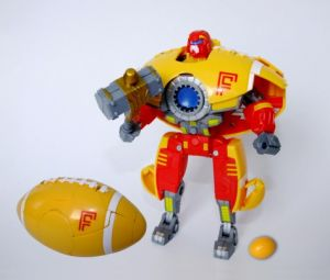 Transforming Action Figure American Football Robot Toys