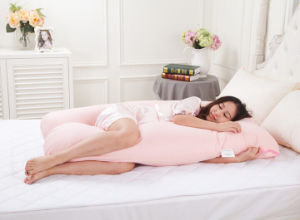 New Design 100% Cotton Multifunction U Shaped Pregnancy Pillow pictures & photos