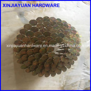 15 Degree Eg Smooth Coil Roofing Nail 0.120′′x1-1/4′′ pictures & photos
