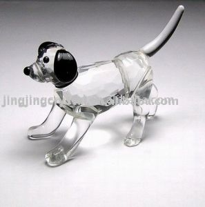 Crystal Animal Dog Figurine pictures & photos