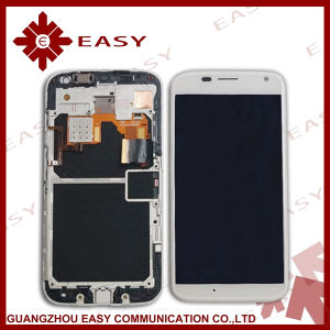 Mobile Phone LCD Screen for Motorola Moto X Xt1058 LCD Assembly with Frame