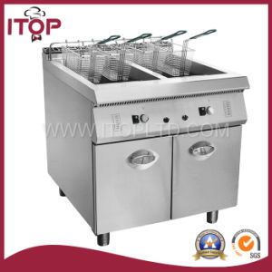 Freestanding Gas Fryer with Cabinet (XR900-RZ) pictures & photos