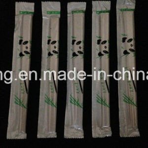 Plastic Wrapped Bamboo Chopsticks for Sushi pictures & photos