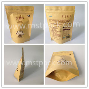 Kraft Paper Coffee Bean Packaging Bag pictures & photos