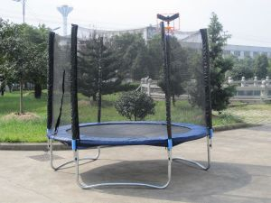 Mini Trampoline 8ft With Basketry (SX-FT(E))
