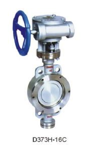 Metal - Seat Butterfly Valve Flange Connected Tht pictures & photos