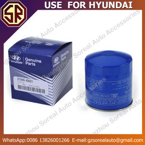 High Performance Auto Oil Filter for Hyundai 31945-45001 pictures & photos