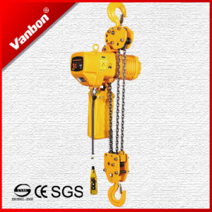 3ton Fixed Type Electric Chain Hoist (WBH-03003SF) pictures & photos