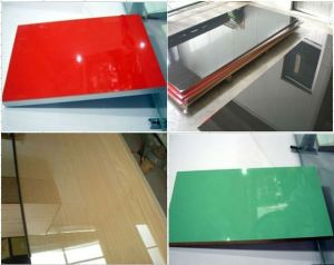 High Gloss Acrylic MDF Board pictures & photos
