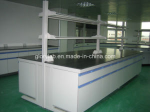 Central Bench Laboratory Furniture with Reagent Shelf (JH-WF001) pictures & photos