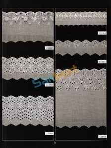 Colors Fashion Designs Cotton Embroidery Lace with Competitive Price pictures & photos