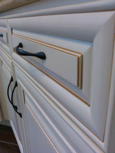 Bck European Style Wood Kitchen Cabinet White Paint Us Red Oak pictures & photos
