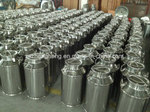 Stainless Steel Milk Can with Sealing Lid pictures & photos