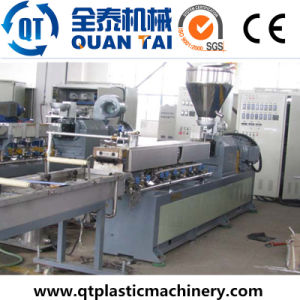 PP+CaCO3 Production Line / Double Screw Extruder pictures & photos