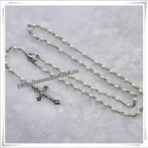 Different Beads Material and Saint Catholic Glass Rosary (IO-cr002) pictures & photos