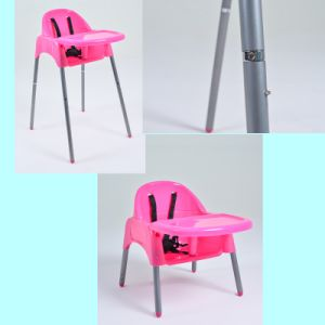 Portable Multi-Purpose Taizhou Factory Pink Child Baby High Chair