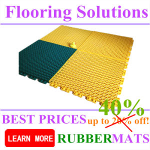 Colorful Color Sports Court Durable Safety Shockproof PP Interlock Flooring pictures & photos