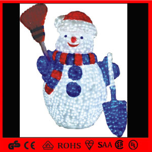 Outdoor Decoration LED Motif Santa Claus Light pictures & photos