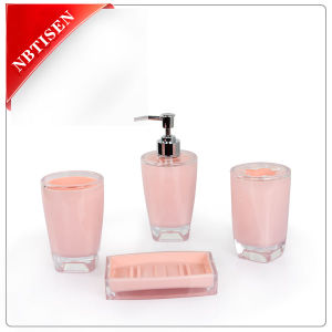 New Acrylic/Plastic Crystal Bathroom Accessories Set (TS8013-4) pictures & photos