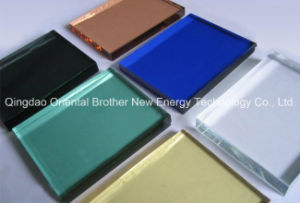 Bronze, Blue, Green, Grey, Pink Reflective Glass /Coated Glass pictures & photos