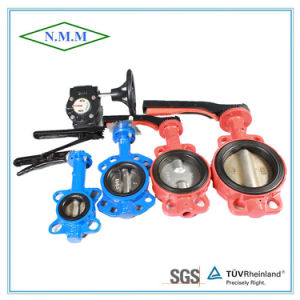 Cast Iron Wafer a Type Butterfly Valve pictures & photos