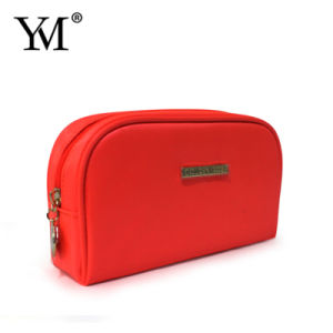 Best Selling Top Quality Promotional Orange Nylon Makeup Pouch pictures & photos