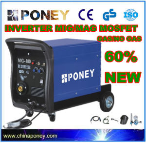 DC Inverter Mosfet MIG/Mag Gas/No Gas Welding Machine (MIG-160) pictures & photos