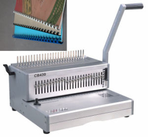 Large Size A3 Comb Binding Machine for Book Punching and Binding (CB430) pictures & photos