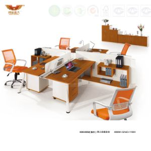 Modern Office Furniture 4 Person Seats Modular Workstation (H30-0232) pictures & photos
