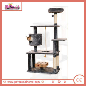 140cm Large Sisal Post Cat Tree with Playing Toys pictures & photos