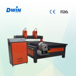 Factory Supply 3D Cylinder Rotary CNC Woodworking Machine pictures & photos