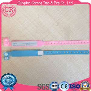 Disposable Plastic Adult and Child Medical ID Band pictures & photos