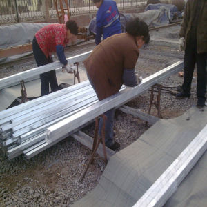 40X40X3mm Hot DIP Galvanized Square Steel Pipe for Steel Frame pictures & photos
